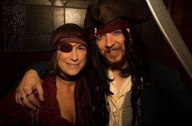 Тоби и Марианна – первая юридически признанная пастафарианская семейная пара. Фото- venganza.org