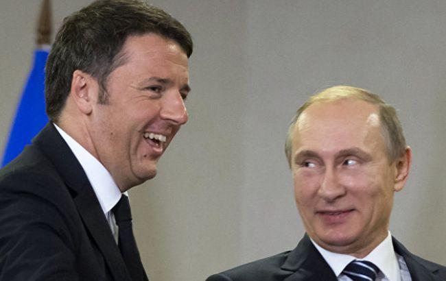 Італія може затримати продовження санкцій проти РФ Поштівка