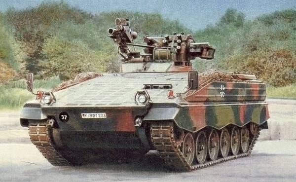 Німці розробили нову бойову машину Поштівка