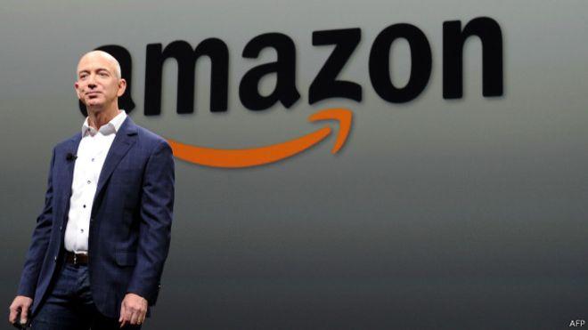 Засновник Amazon Безос став третьою найбагатшою людиною світу Поштівка