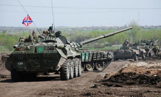 Росія пригнала на Донбас 30 платформ з танками і САУ Поштівка