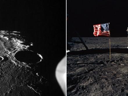 47 років тому людина зробила крок на Місяці Поштівка