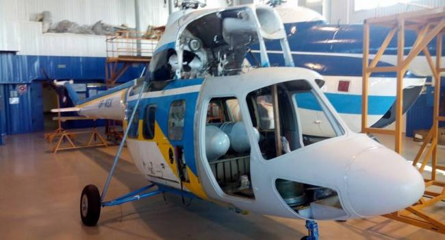 Україна випускатиме свій вертоліт Поштівка