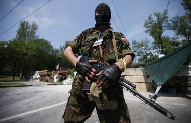 На терористів «ДНР» наїхали вантажівкою родичі убитого ними мешканця Поштівка