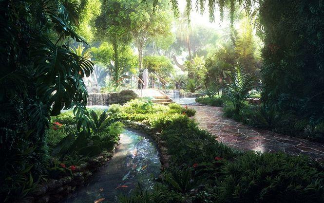 У Дубаї з'явиться перший у світі готель з тропічним лісом Поштівка