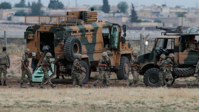 Туреччина почала наземну операцію в Сирії Поштівка