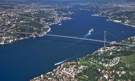 У Стамбулі відкриють найширший у світі міст через Босфорську протоку Поштівка