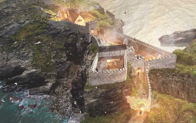 Археологи знайшли королівський палац на місці народження короля Артура Поштівка