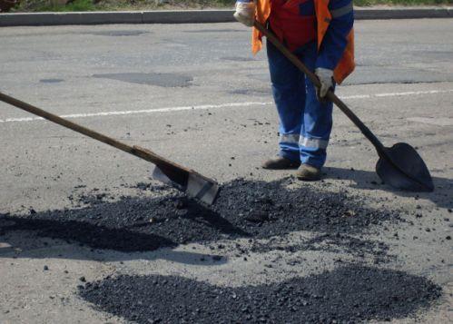 60% ям на дорогах ліквідовано Поштівка