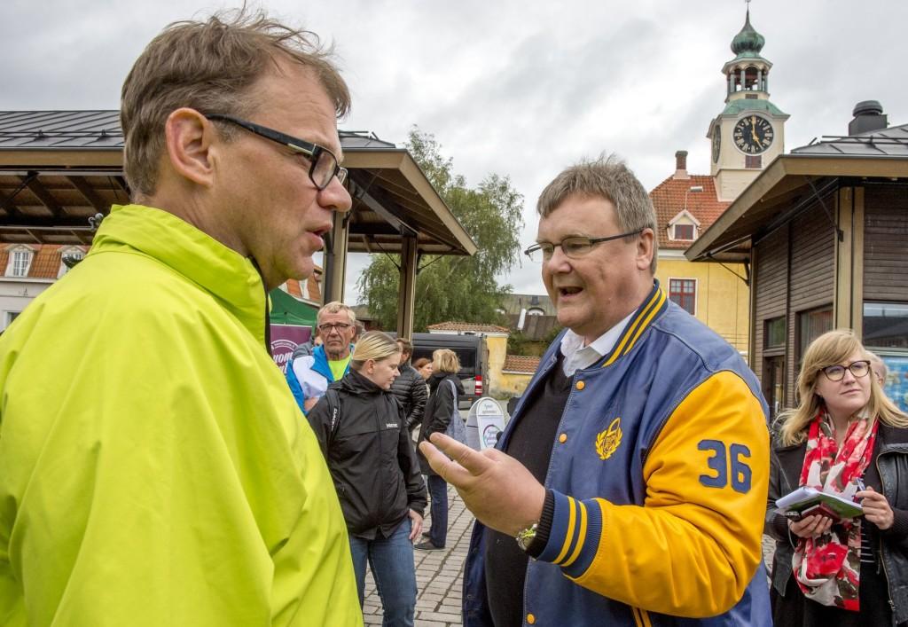 Juha Sipilä pyörä