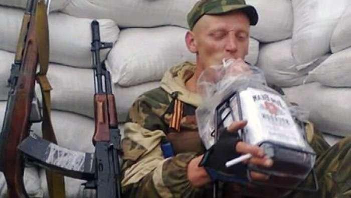 Російське командування активізувало боротьбу з пияцтвом бойовиків «ДНР» Поштівка