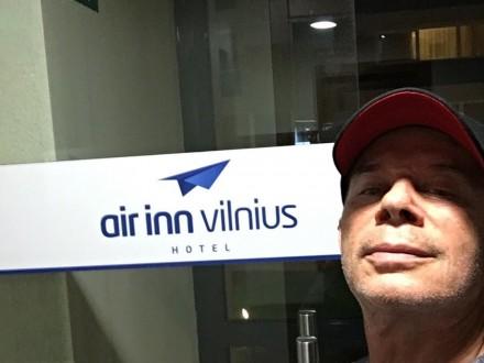 Газманова не впустили в Литву Поштівка