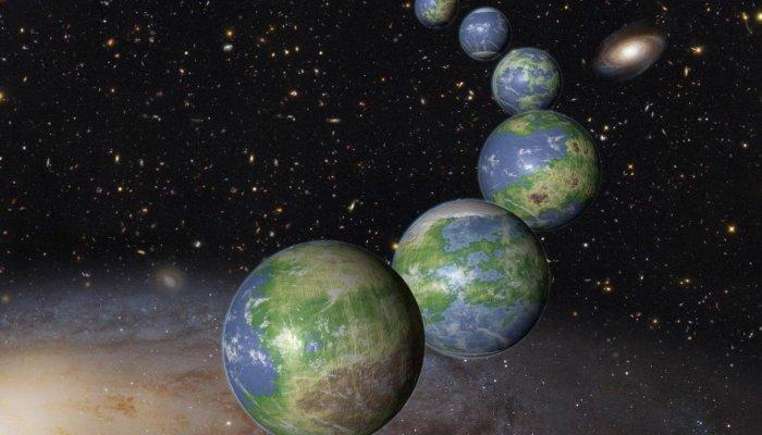 NASA: Виявлено 20 схожих на Землю інопланетних світів Поштівка