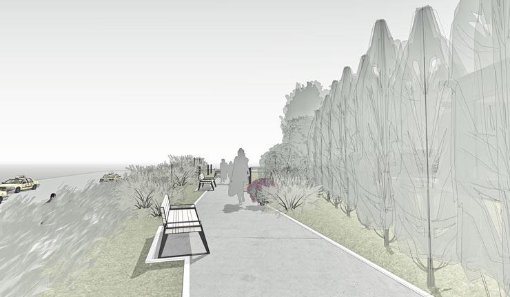 Оновлення скверу на Львіській площі