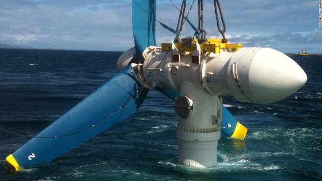 Перша в світі велика приливна електростанція запущена в Шотландії Поштівка