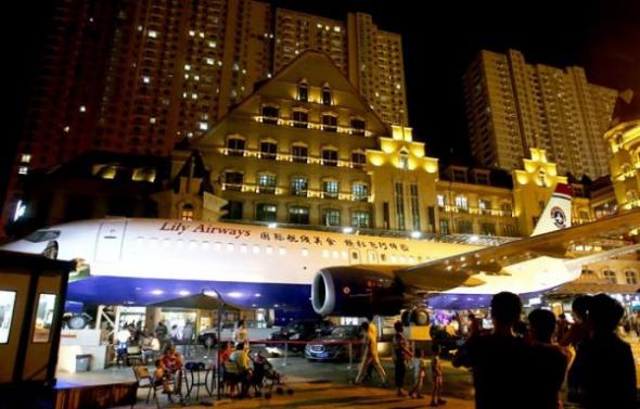 Бізнесмен відкрив ресторан у Boeing-737 за $ 525 тис. Поштівка