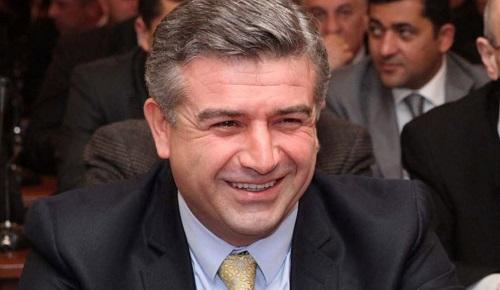 Новим прем'єром Вірменії став чиновник «Газпрому» Поштівка