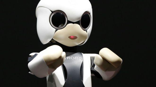 Toyota представила дитину-робота для самотніх японців Поштівка