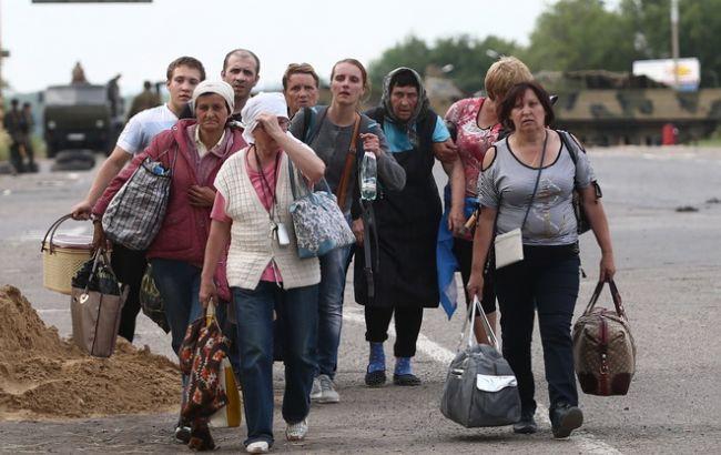 В Україні майже третина переселенців змушена економити на харчуванні Поштівка