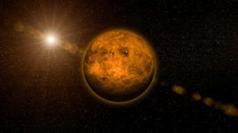 Венера була першим населеним світом в Сонячній системі Поштівка