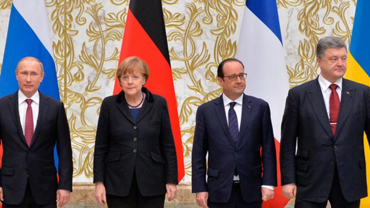 Меркель не вважає, що Україні слід негайно повернути контроль над кордоном Поштівка