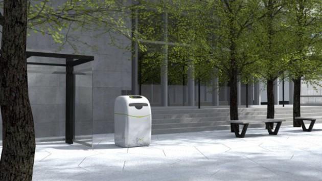 Розумні сміттєві баки зроблять революцію в переробці відходів Поштівка