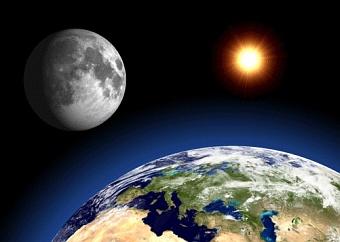 Місяць сформувався через катастрофу на Землі Поштівка