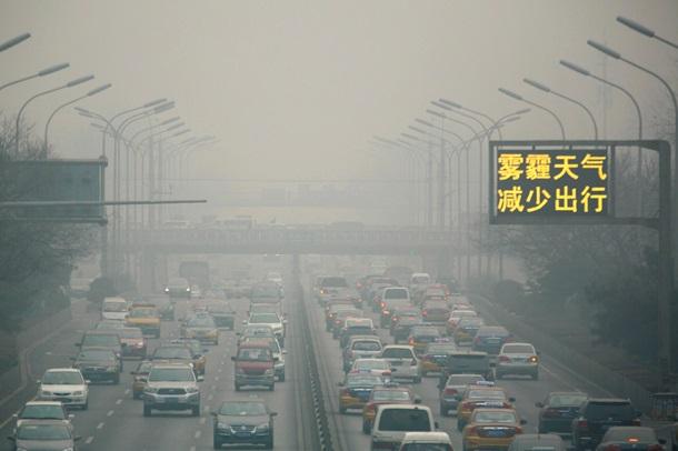 Винайдено спосіб очищення повітря в мегаполісах Поштівка