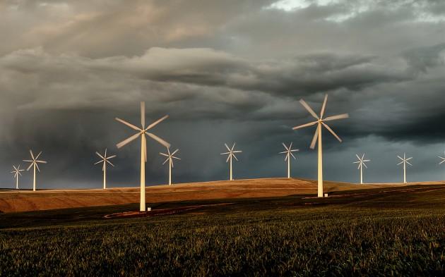 Вітер забезпечив енергією кожен будинок в Шотландії Поштівка