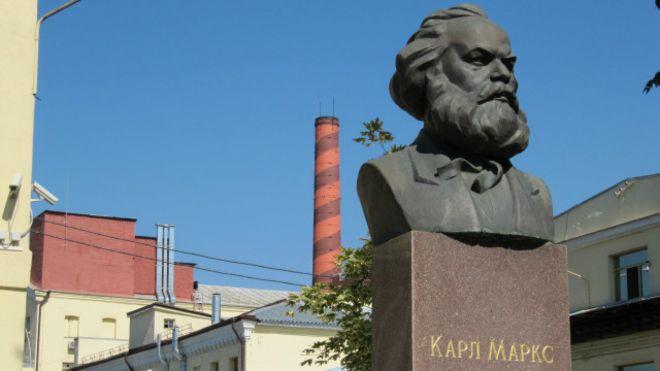 У Києві на фабриці «Рошен» забули декомунізувати Маркса Поштівка