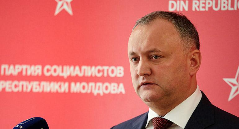 Додон розповів про стосунки з Україною в разі його обрання президентом Молдови Поштівка