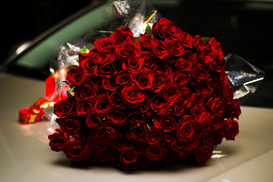 Букеты роз для подарка 264