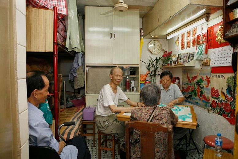 В розділеній квартирі, Гонконг
