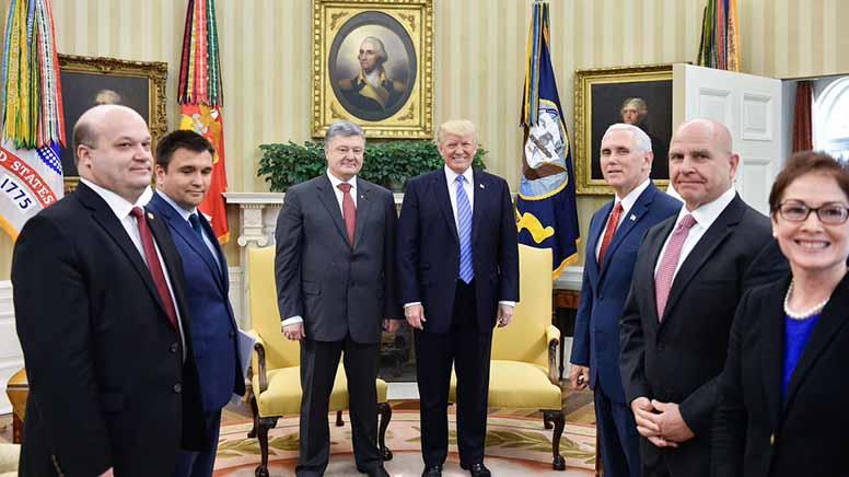 Trump Poroshenko