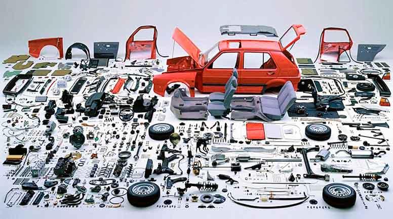 комплектуючі для авто вітчизняного складання