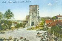 Замок Любарта у Луцьку. Поштова листівка початку ХХ ст.