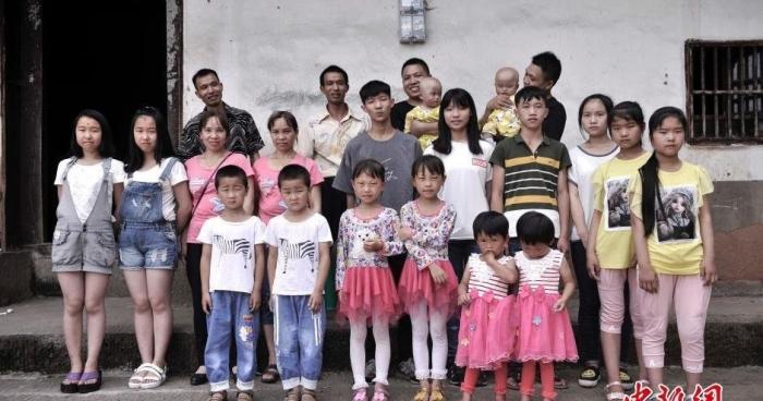 У китайському селі живуть 39 пар близнюків Поштівка