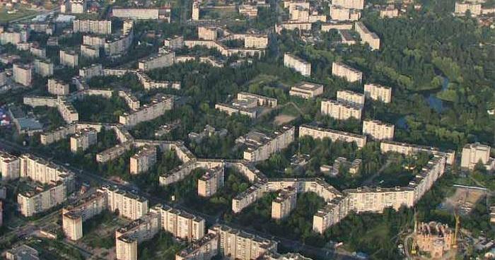 Найбільший у світі житловий дім у Луцьку! Поштівка