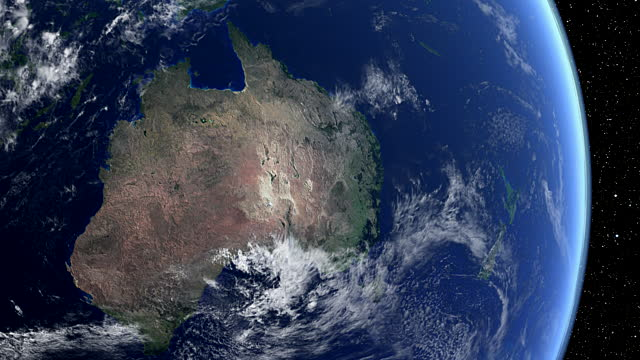 Австралія за 22 роки змістилася на північ напівтора метри Поштівка