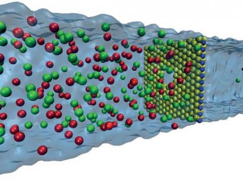 Вчені розробили нову методику отримання енергії з солоної води Поштівка