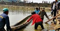 Човен віком у 800 років відкопали в Камбоджі Поштівка