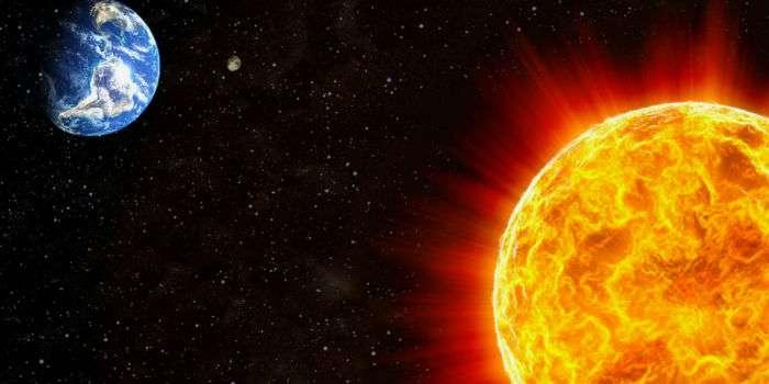 Сильна буря на Сонці знищить Землю в найближчому майбутньому Поштівка