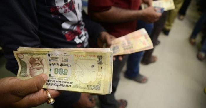 Боротьба з корупцією в Індії: заборонять обіг купюр номіналом 500 і 1000 рупій Поштівка