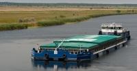 Нібулон перевіз річковим транспортом 2 млн т вантажів Поштівка
