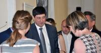 Начальник Одеської філії АМПУ Ігор Ткачук та Посол Великої Британії в Україні Джудіт Гоф