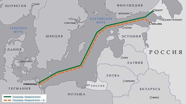 """США попередили про санкції охочих взяти участь у """"Північному потоку-2"""""""